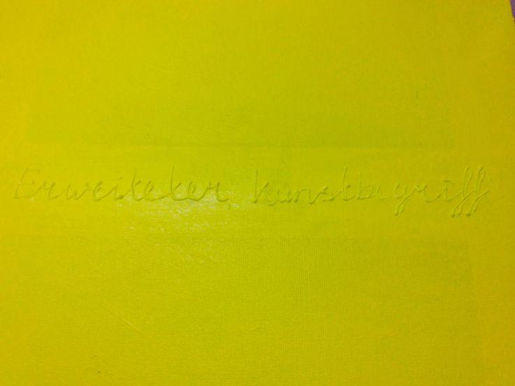 Erweiteter Kunstbegriff (tribute to Joseph Beuys) Linen 60x90cm Acrylic