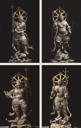 木造四天王立像(もくぞうしてんのうりゅうぞう)   「国宝」「重要文化財」   文化財   法相宗大本山 興福寺