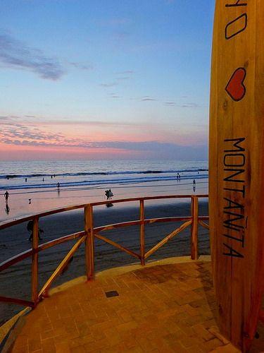 Montañita. playas Ecuador