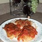 Côtelettes de porc à la saucisse italienne, aux champignons et aux tomates