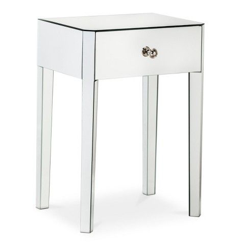 Best 25+ Mirrored accent table ideas on Pinterest