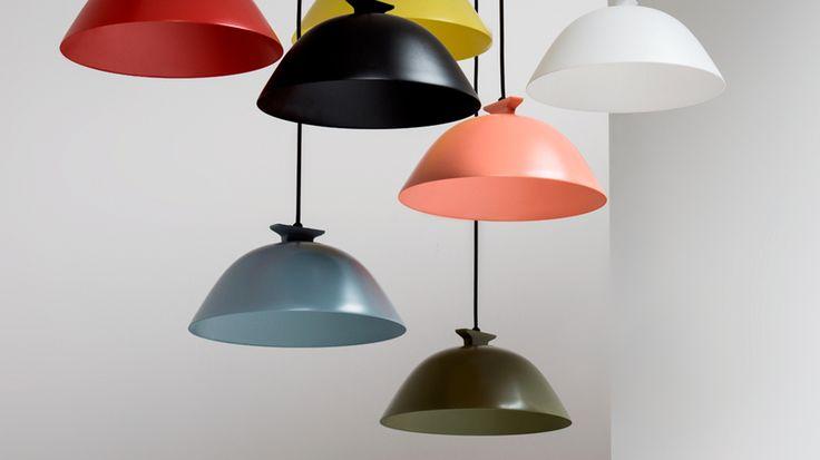 Inga Sempé -Deutsch-Französische Freundschaft  highlighting, light, lamp, solid color, decor, pink, yellow, red, white, black, brown, grey