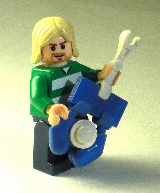 Kurt Cobain Lego figure!