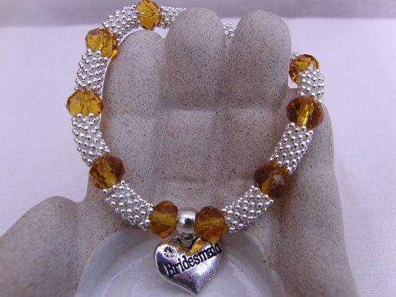 Bracelet Charm Bracelet Wedding Jewellery by OswestryJewels