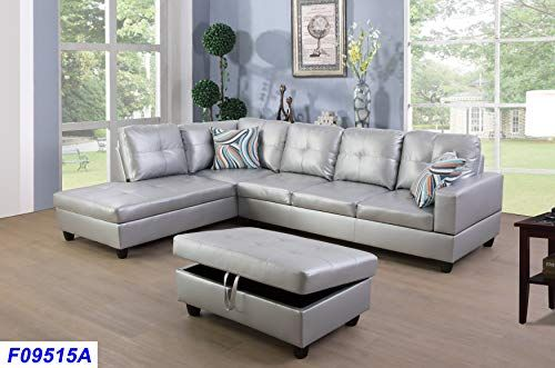 lifestyle furniture left facing 3pc sectional sofa set faux leather rh pinterest com