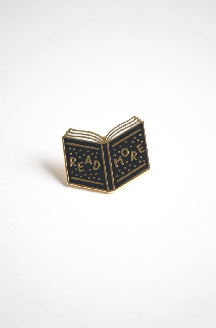 Life Lesson Enamel Pin - Read More