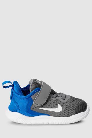 huge discount eb096 37c83 Nike Run Grey Blue Free Run Velcro   shoes boys   Pinterest   Blue grey,  Nike and Shoes