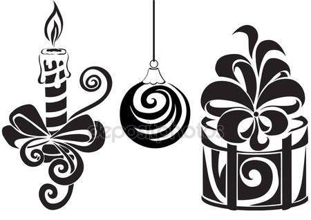 Скачать - Набор для Рождества — стоковая иллюстрация #1541421