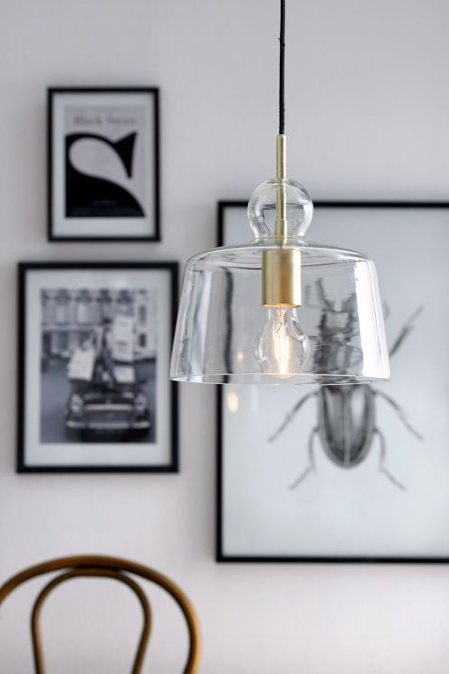 "This is a beauty from Ellos.se, the ""Vidar"" lamp. I really like it."