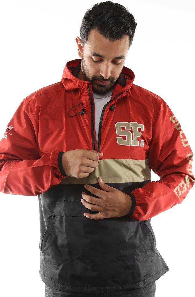 b0a86e32da3 SAVS X Adapt    Gold Blooded Chiefs (Men s Red Black Anorak Jacket ...