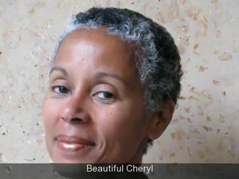 Natural Hair, Gray Hair, Transition Hair, Black Hair - Silver Beauty -Sa...