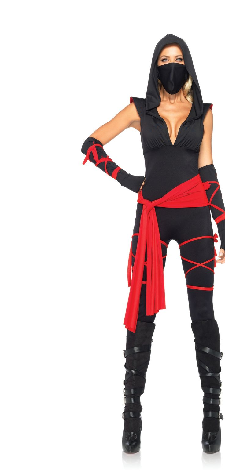 ninja halloween costumes for women | Deadly Ninja Women 2013 Halloween Costume Online | The Costume Land