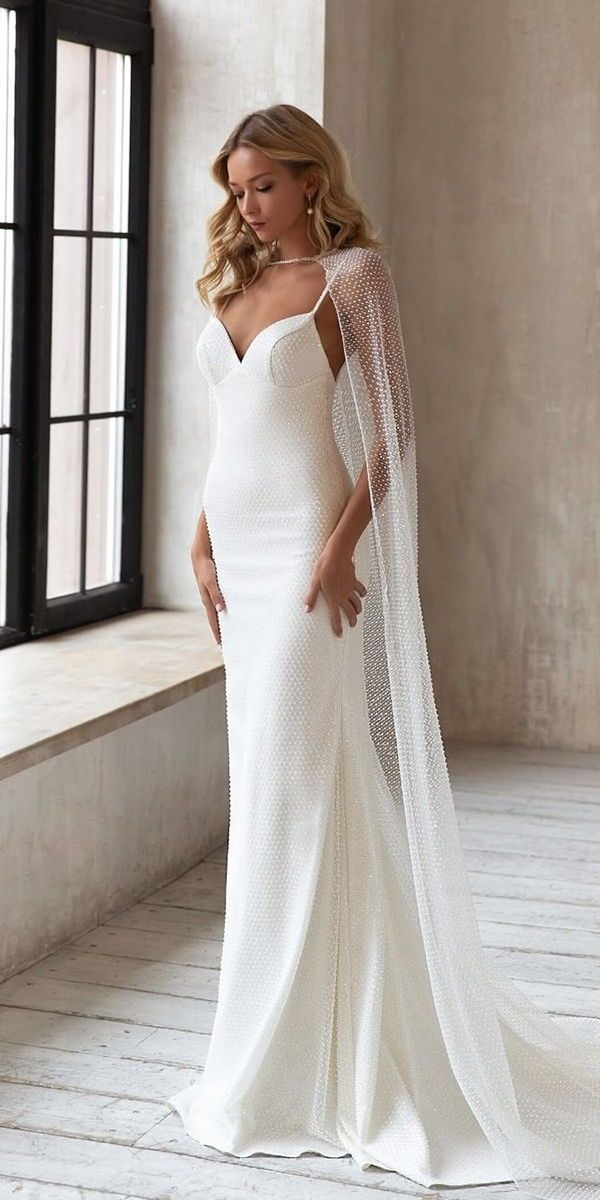 27 Awesome Simple Wedding Dresses For Cute Brides Wedding Dresses Guide In 2020 Wedding Dresses Simple Wedding Dress Guide Civil Wedding Dresses