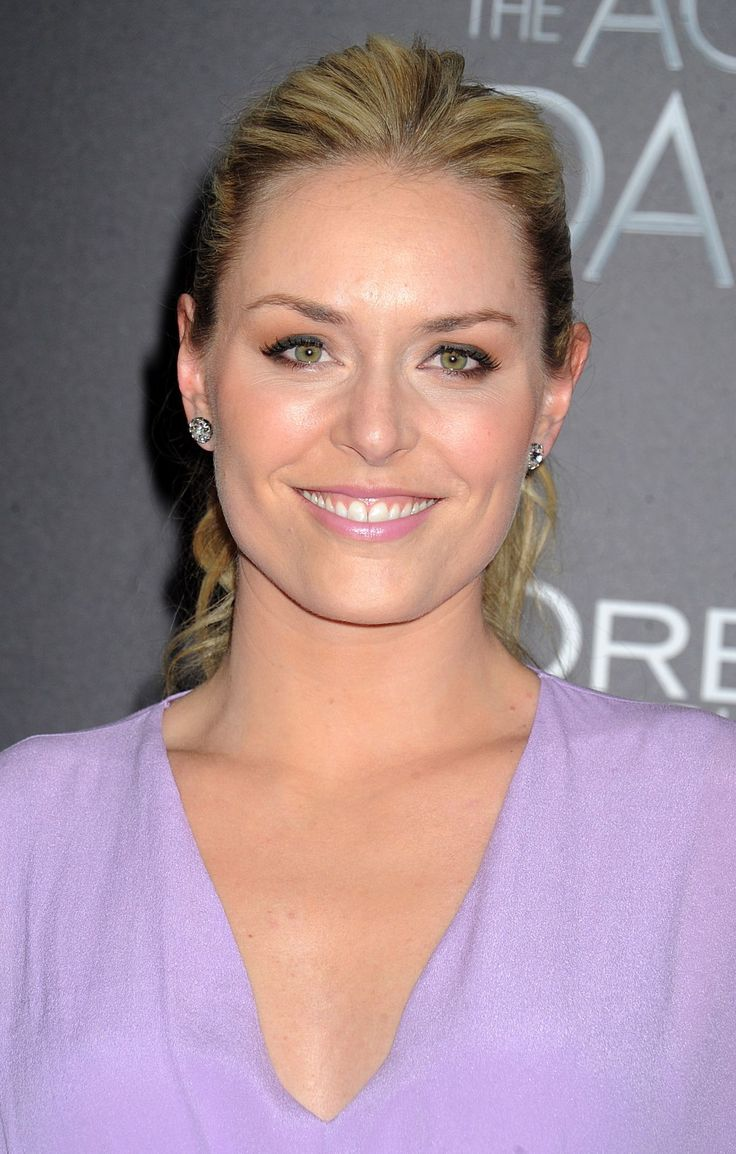 Lindsey Vonn attends The Age Of Adaline premiere in New York