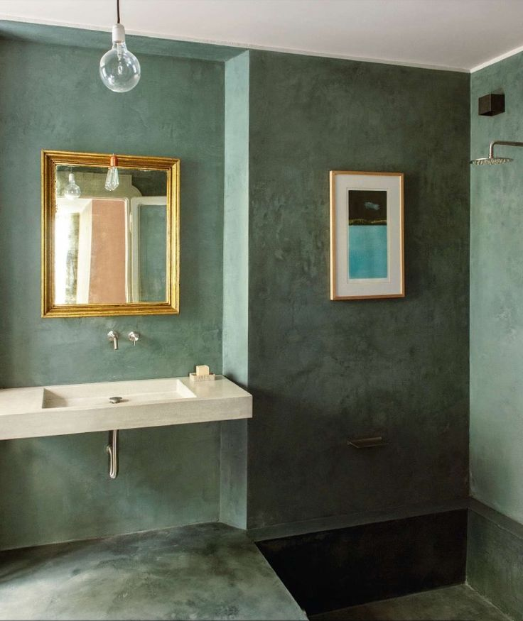 MAD ABOUT INTERIOR DESIGN   gorgeous green bathroom blends classic with modern style. 1000  ideas about Green Bathrooms on Pinterest   Green bathroom