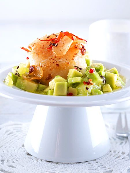 die besten 25 rezept jakobsmuscheln vorspeise salat ideen. Black Bedroom Furniture Sets. Home Design Ideas