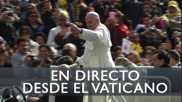 EN DIRECTO: El Papa Francisco reza el Ángelus en el Vaticano