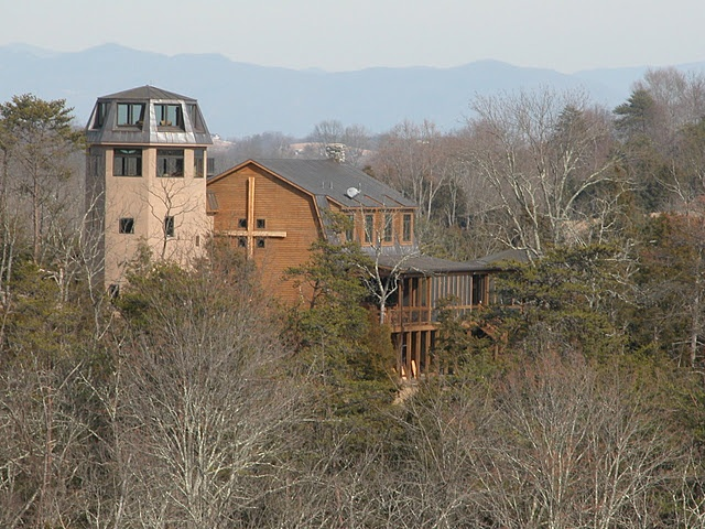 Broadview Bellfry, my sister Anne's lovely retreat home near Lexington, Virginia.