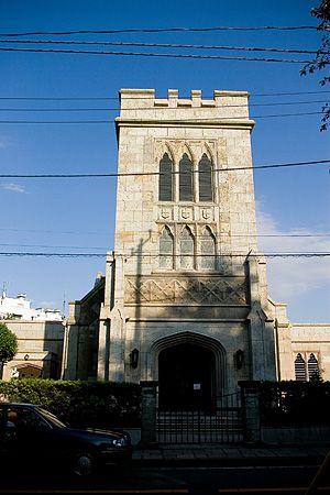 Yokohama Christ Church on the Bluff