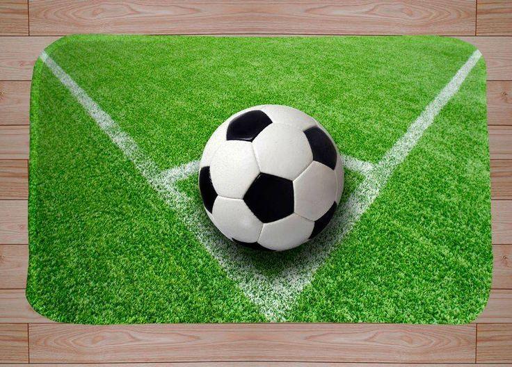 Voordelig Voetbal vloerkleed voor jongenskamer