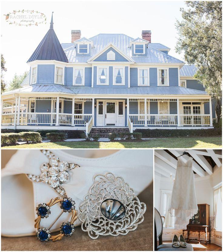Highland Manor Apopka Fl Rustic Vintage Wedding Rachel