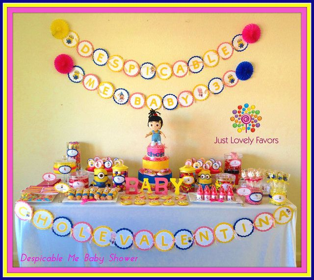 Baby Shower Its A GIRL Baby Shower Party Ideas