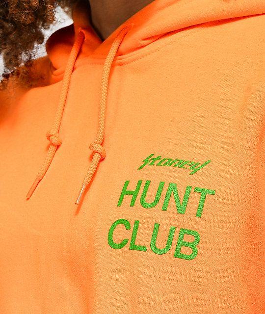4b006a64df0c Post Malone Stoney Target Hunt Club Orange Crop Hoodie | t ...