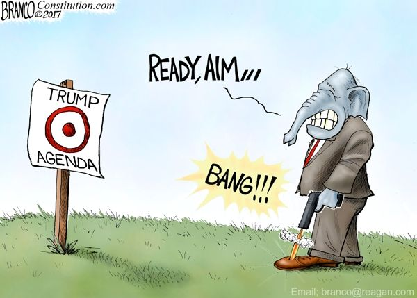Image result for branco cartoons big government republicans
