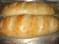 EASY Homemade French Bread for about $0.25 a loaf- make 4 loaves in an hour..