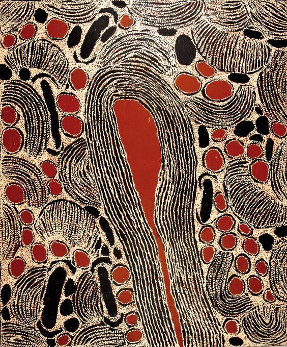 Ningura NAPURRULA_Sans Titre_Art aborigene australien