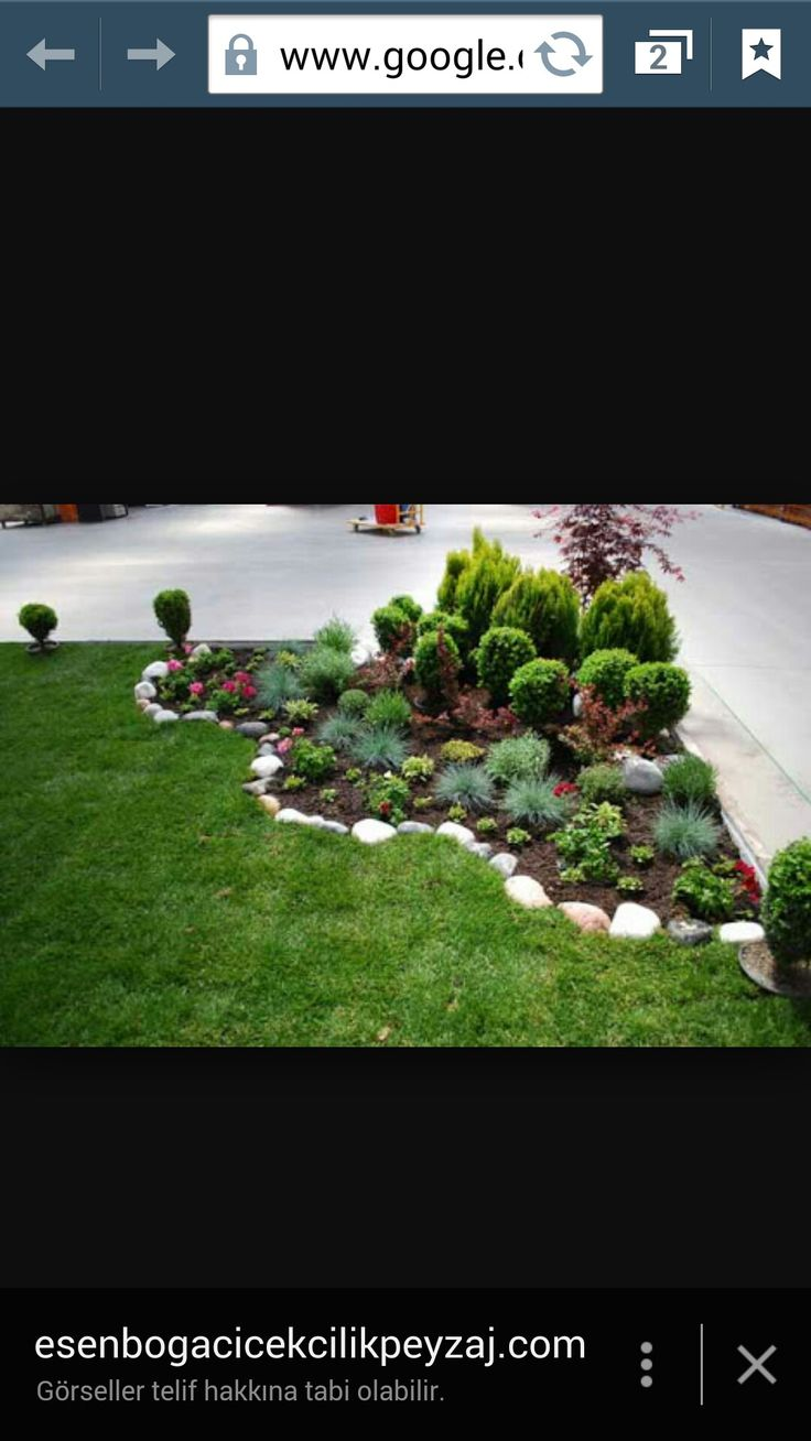 Beautiful House Garden Photo: Berna Şahin Adlı Kullanıcının Bahçe Dekor Panosundaki Pin