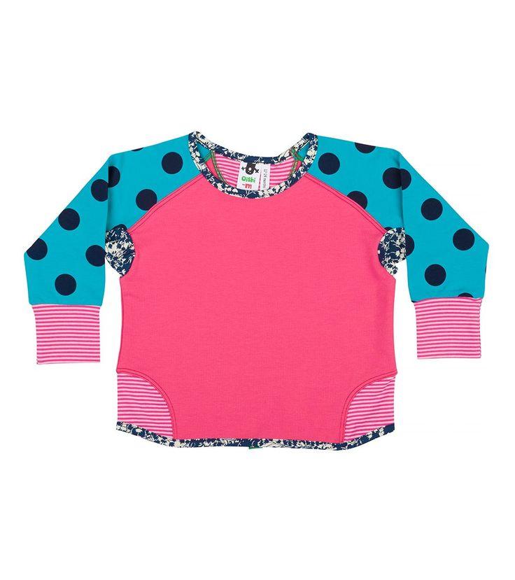 Schmancy Crew Jumper, Oishi-m Clothing for kids, Summer 16, www.oishi-m.com