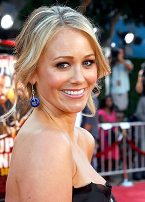 Christine Taylor, actress and wife of actor Ben Stiller. Allentown, Pa