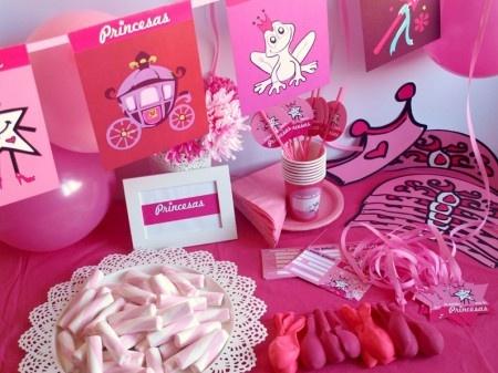 caja temtica de princesas todo lo que necesitas para la decoracin de tu fiesta infantil