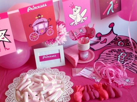 10 best fiesta de princesas images on pinterest princess - Decoracion cumpleanos princesas ...