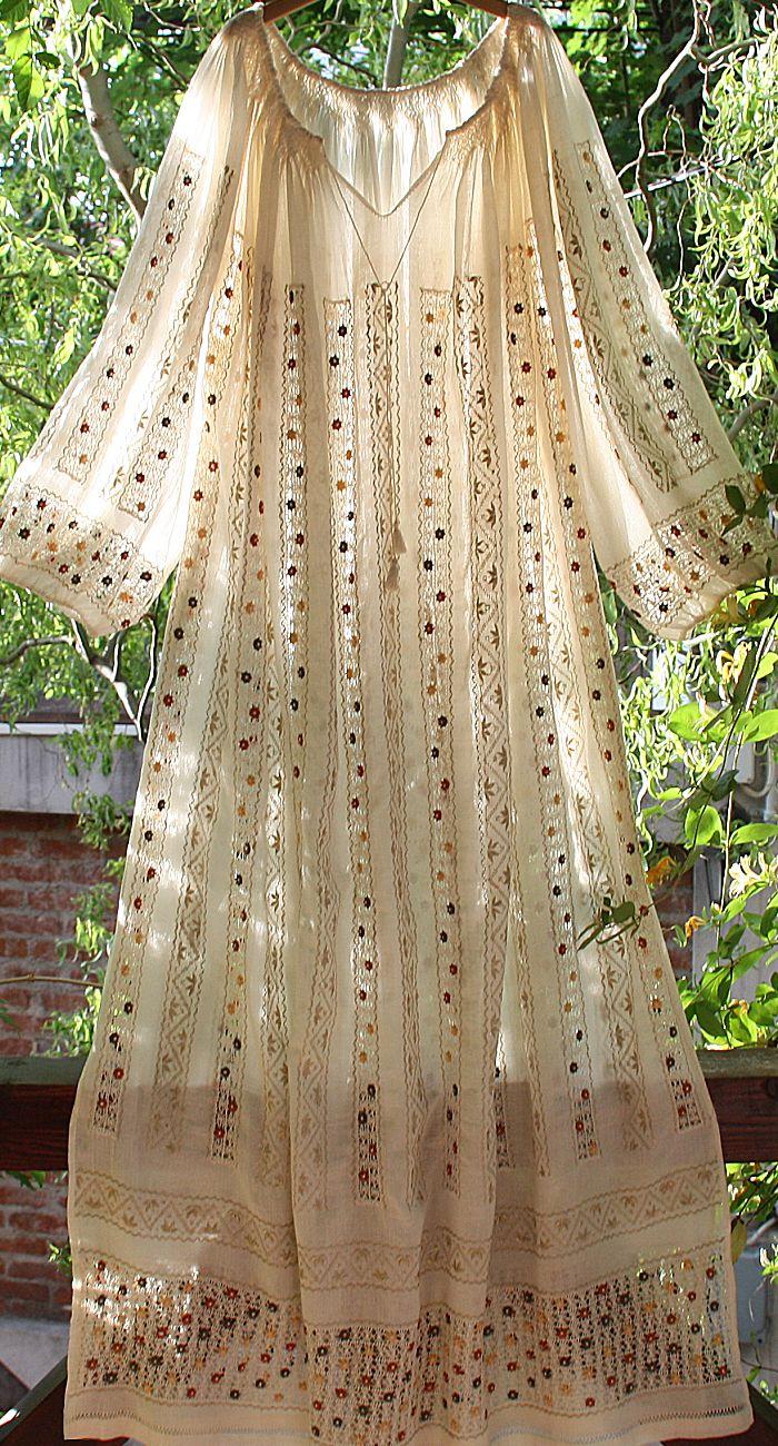 rochie brodata manual | Blogul Mamicilor