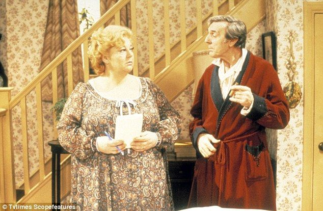 Hattie Jacques and Eric Sykes. This is one of my earliest TV memories.
