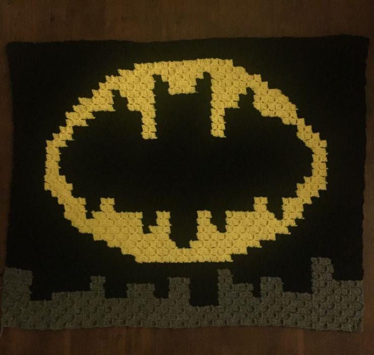 C2C crochet batman afghan (picture only)