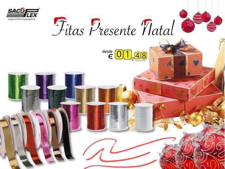 Fitas para Presentes de Natal