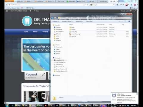 PSD to HTML to Wordpress Template Creation
