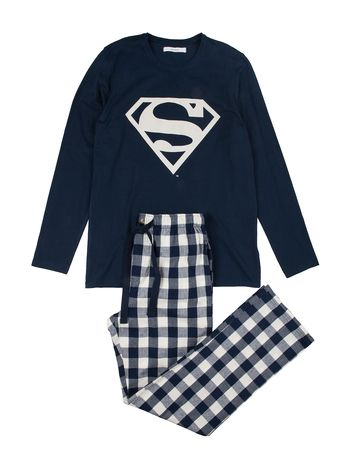 women'secret | MEN'SECRET | Pijama largo de Superman para hombre