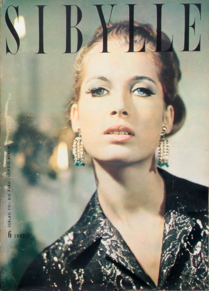 SIBYLLE, COVER ATLAS, 6-1963