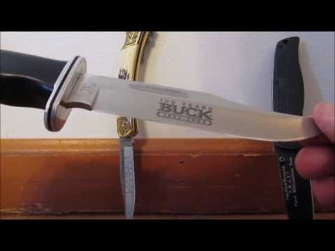 Buck 119 Special Hunting knife: 14 Year Review - YouTube