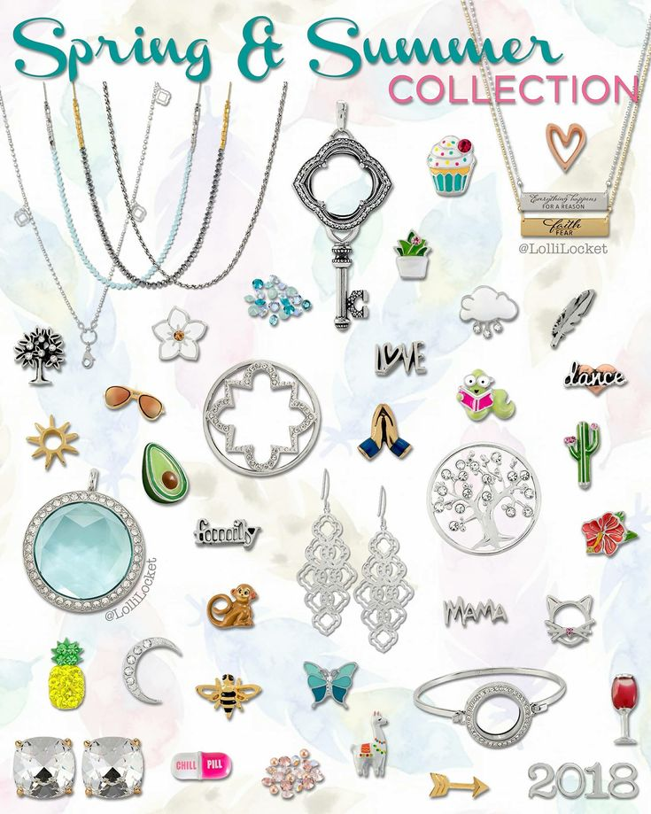 Origami Owl - 2018 Spring Collection!! www.charmingsusie.origamiowl.com