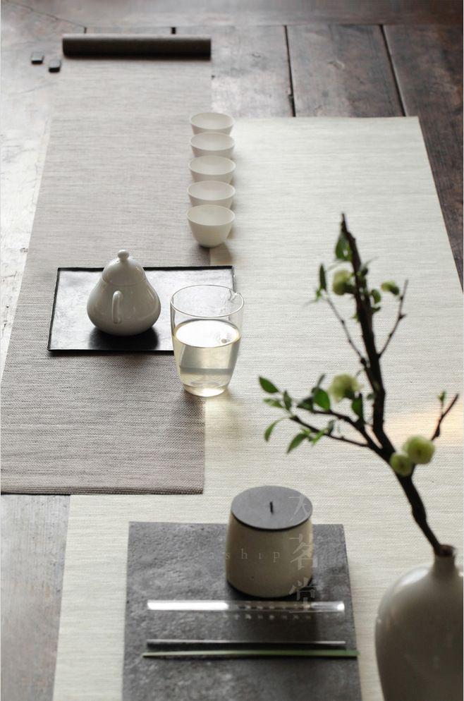 春日茶席 之 新绿 / Cérémonie du thé / Art du thé / Zen