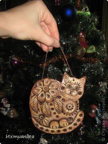 Поделка изделие День рождения Лепка Пряничные котики Тесто соленое фото 11