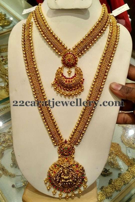 Jewellery Designs: Antique Necklace and Long Chain