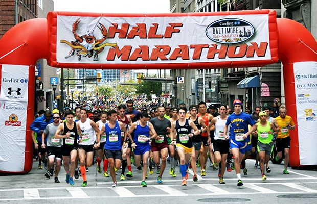 The 50 Best Half-Marathons in the U.S. - CareFirst BlueCross BlueShield Baltimore Half Marathon - Baltimore, MD