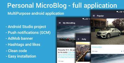 Codecanyon Personal MicroBlog