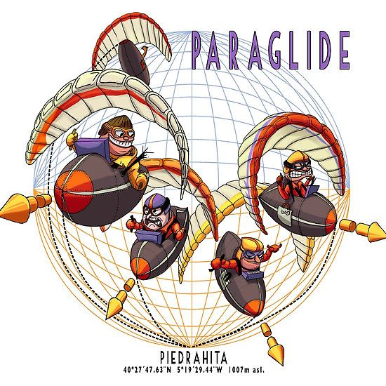 Paragliding:The race is on!